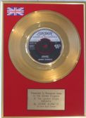 JOHNNY BURNETTE - 24 Carat Gold Disc - DREAMIN'